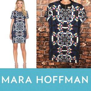 Mara Hoffman Tee Shift Dress in Tesselate Navy